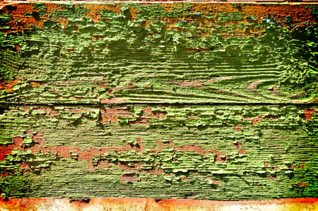 Abstract grunge background - old painted boards photo