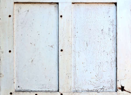 Rustic Background - old painted double frame. photo