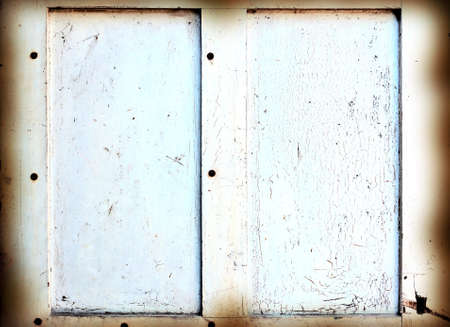 Rustic Background - old painted Burnt double frame. photo