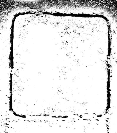 metall: Grunge textureв Frame - old metall hatch. EPS10 vector illustration.