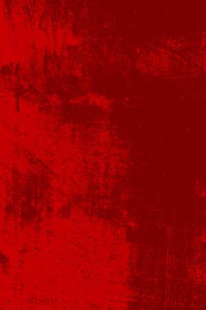 抽象的なグランジ背景 - 赤い傷テクスチャ。イラスト。