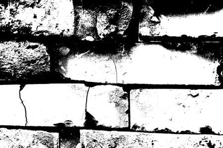 Grunge background - Old clay bricks. Stock Vector - 16173144