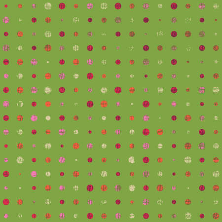 Abstract grunge background - color dots. vector Vector