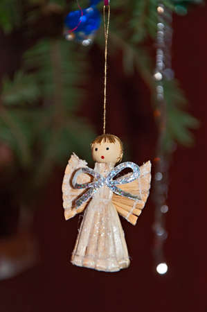 Christmas tree decoration - Angel Stock Photo - 16819919