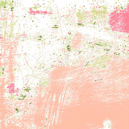 Abstract grunge painted texture.  Illustration
