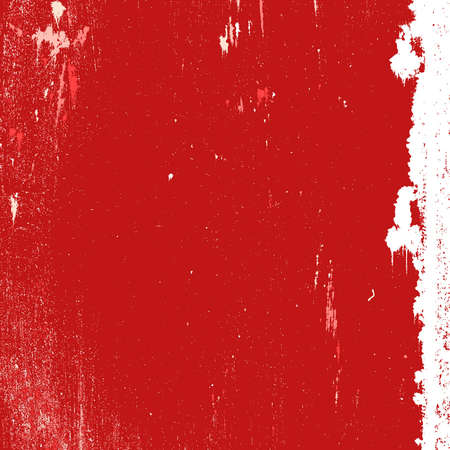 Red grunge stained background  EPS10 vector
