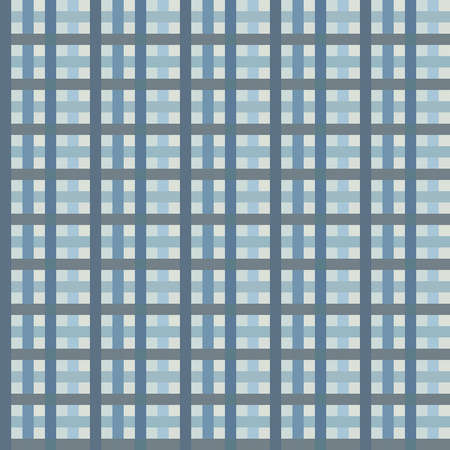 Checkered seamless backround in blue colors  EPS10 vector  Vector