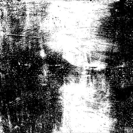 Scratched grunge brushed texture. vector background.