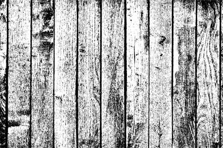 木製の板の背景 - 垂直の苦しめられた木製の板  イラスト・ベクター素材