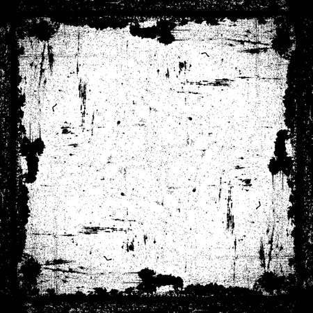 Grunge Textured Frame  イラスト・ベクター素材