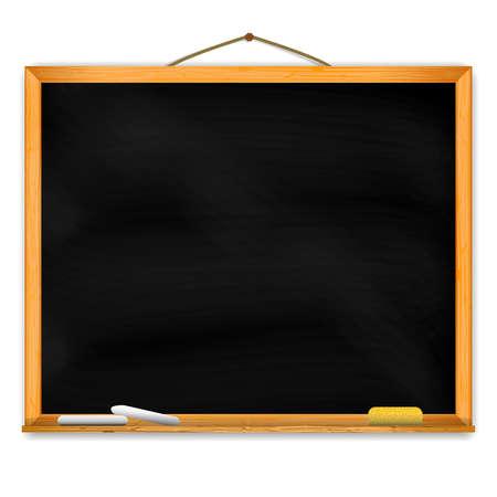 テキストのスペースを持つ黒板。EPS10 ベクトル。  イラスト・ベクター素材