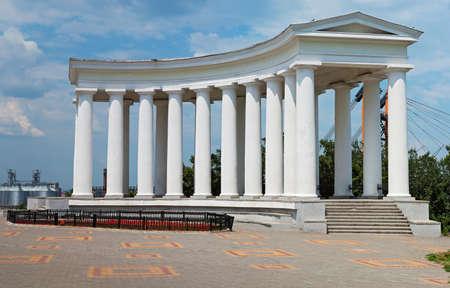 vorontsov: Colonnade at Vorontsov Palace in Odessa. Ukraine