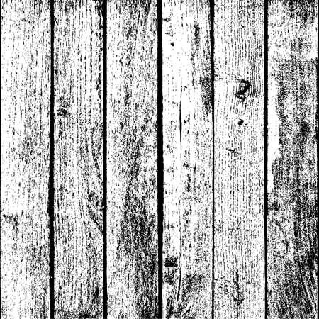 木製の板 - オーバーレイ テクスチャー垂直苦しめられた木製 plancks。  イラスト・ベクター素材