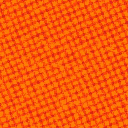 linen texture: Orange Checkered Grunge