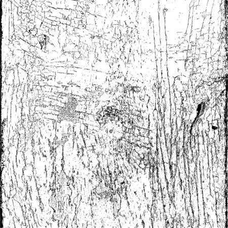 craquelure: Cracked peinture superposition texture Illustration
