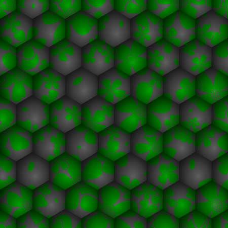 sci: Ciencia floral sin fisuras de fondo. Ilustraci�n vectorial EPS10.