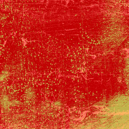 Red Dirty Texture Illustration