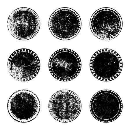 Grunge Imposta di bollo Vettoriali