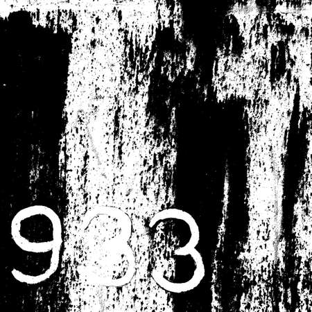 Overlay grunge Texture with digits drawn with paint Stock Vector - 28559471