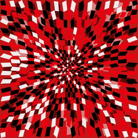 Red Square Background for youEPS10 vector. Vector