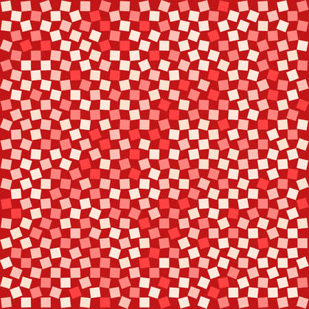 Red Squared Background for your design. Vector