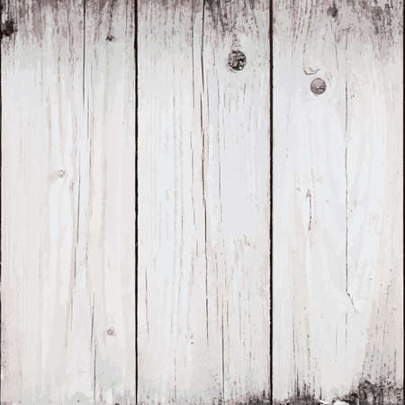 Old Planks Background for your design   vector  Ilustracja