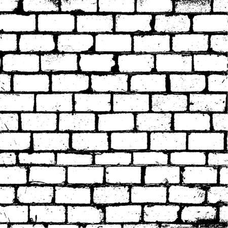 Brickwall Overlay Textuur voor yorontwerp EPS10 vector