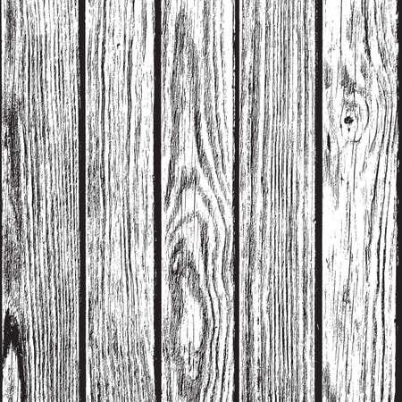 乾燥木製の板は、あなたのデザインの背景をオーバーレイします。EPS10 ベクトル。