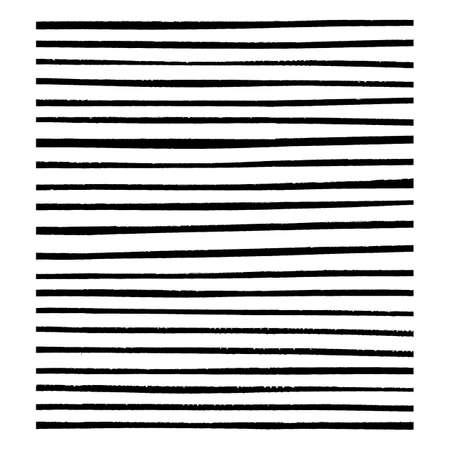 dibujos lineales: Grunge del sistema de cepillo para su dise�o - 21 piezas. Vectores
