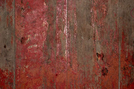 distressed wood: Obsolete Painted Wood background for your design. Stock Photo