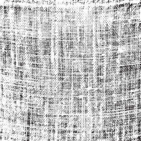 Linnen Distress textuur voor uw ontwerp. EPS10 vector. Vector Illustratie