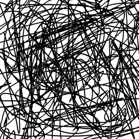 Grunge scribble texture for your design. EPS10 vector.