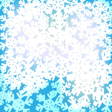 hoar frost: Abstract Christmass Background for happy holiday. EPS10 vector.