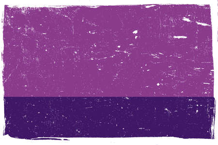 horizontal orientation: Distressed Violet Texture with white borders for your design, horizontal orientation. EPS10 vector. Illustration