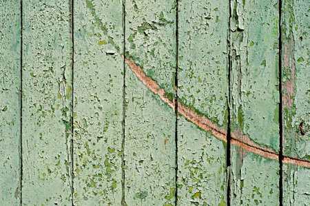 distressed wood: Damaged Wooden Planks Background For Your Design.
