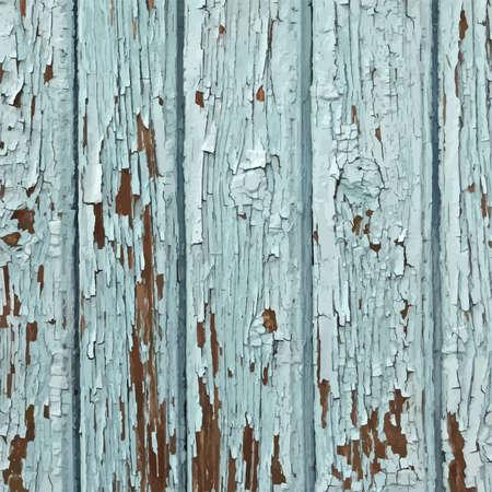 peeled: Blue Peeled Paint Illustration