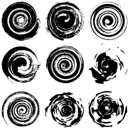 Grunge Spiral
