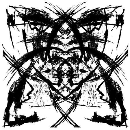 Distress Background Symmetry Illustration