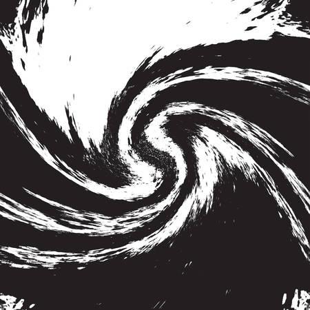 Texture Horizontal Wavy Grunge  イラスト・ベクター素材