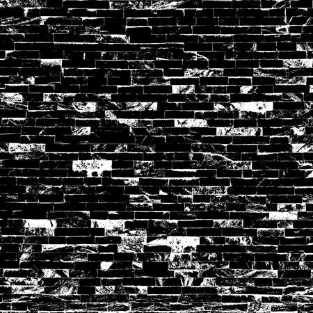 brick texture: Decorative Black Brick Texture