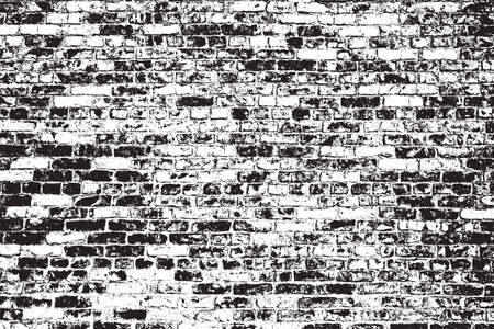 brickwork: Brick wall overlay texture - for your design. EPS10 vector.