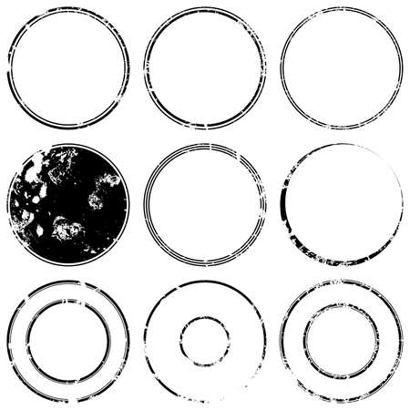 estampilla: Grunge sello de proyectos de maquetas conjunto de grunge overlay base sello textura para su dise�o. Vector EPS10.