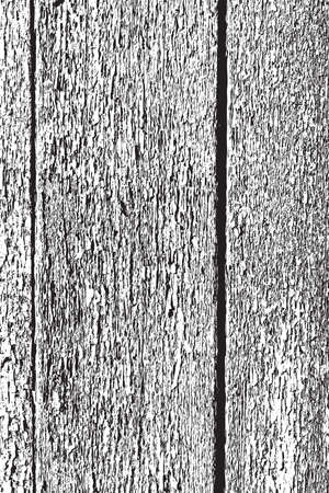 white wood: Wooden Planks distress overlay texture for your design.   Illustration