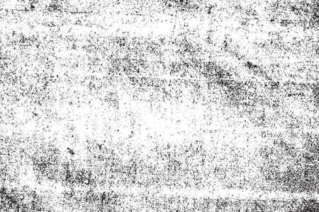 Infilare Distress Un colore nero Sovrapposizione Texture per la progettazione. EPS10 vettore. Vettoriali