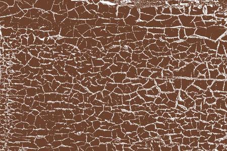 Détresse Cracked texture de couleur pour votre conception. Vecteur EPS10. Vecteurs