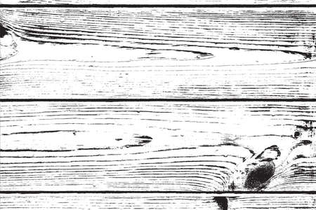 Houten Planken nood overlay textuur voor uw ontwerp. EPS10 vector. Stock Illustratie