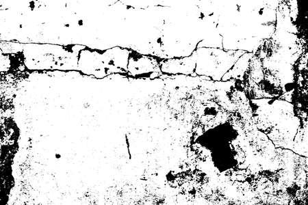 nakładki: Distressed pęknięty farby nakładki tekstury. Ilustracja
