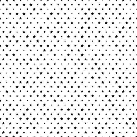 random: Simply seamless texture with random stars.