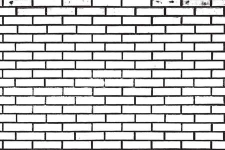 Distress Brick Wall Overlay-textuur voor uw ontwerp.