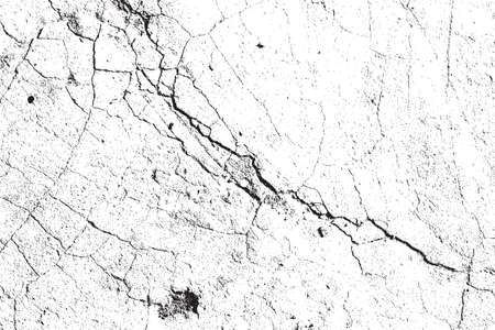 Lumière Cracked Grainy Overlay Texture pour votre conception. vecteur EPS10. Vecteurs